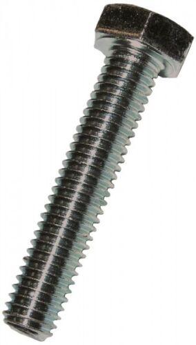 Sechskantschrauben 8.8 mit Gewinde bis Kopf DIN 933 DIN-EN-ISO 4017  M 10 x 35
