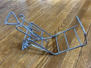 Bicycle Front Basket Rack Adjustable Spring Rare Vintage Schwinn Raleigh Japan