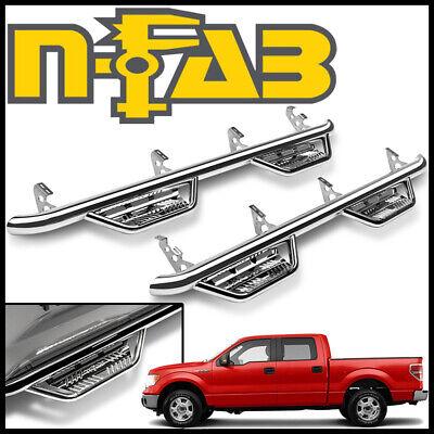 Raptor//Lobo SuperCrew All Beds 09-14 N-FAB HPF0989CC-TX Textured Black Podium LG; Cab Length Ford F150