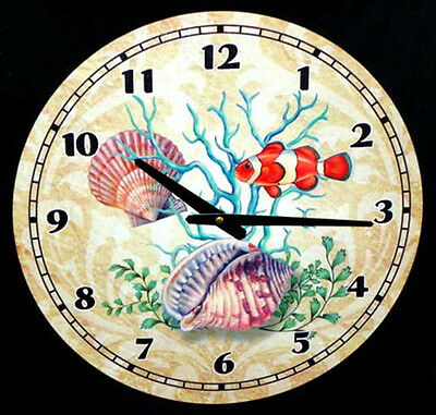 Sea Life Tropical Nautical Weathered Style Wood 15 Quot Wall