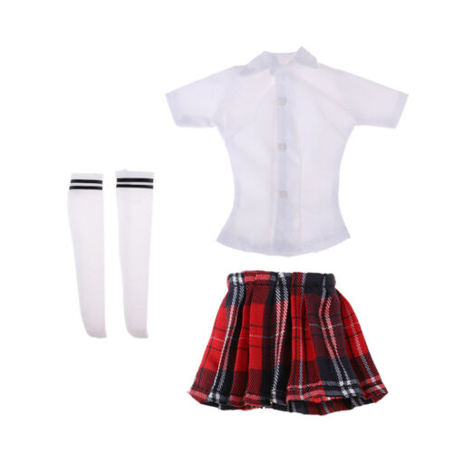 1:6 Scale School   Outfits for 12inch Action Figure Hot Toys Enterbay
