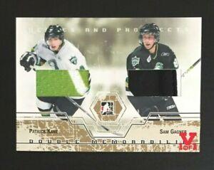 2007-08-ITG-Heroes-amp-Prospects-Patrick-Kane-amp-Sam-Gagner-Jersey-amp-Glove-Vault-1