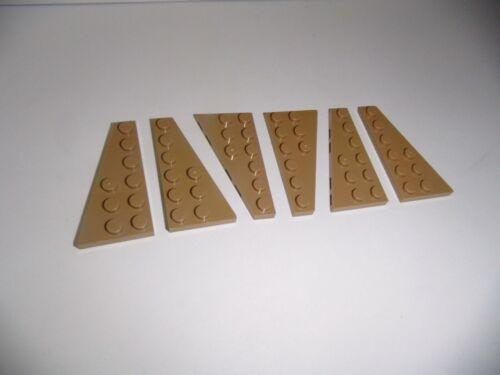 dans Dark Tan De 75059 LEGO 6 ailes plaques 3x6 3x R. + 3x L. 54383//54384