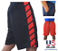 Mens-Basketball-Gym-Fitness-Workout-Athletic-Shorts-with-2-Pockets-M-XL-Fast-Dri thumbnail 4
