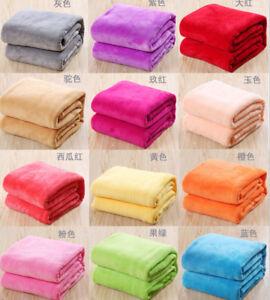 New-Super-Soft-Warm-Solid-Warm-Micro-Plush-Fleece-Blanket-Throw-Rug-Sofa-Bedding
