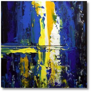 Wall-ART-ORIGINAL-ABSTRACT-MODERN-ACRYLIC-PAINTING-Painting-UNIKAT-Art-No-984