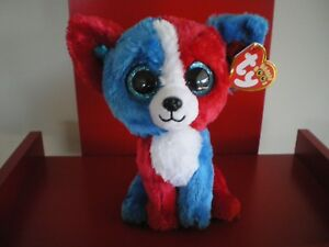 Ty Beanie Boos VALOR the dog 6 inch NWT.Cracker Barrel Exclusive.