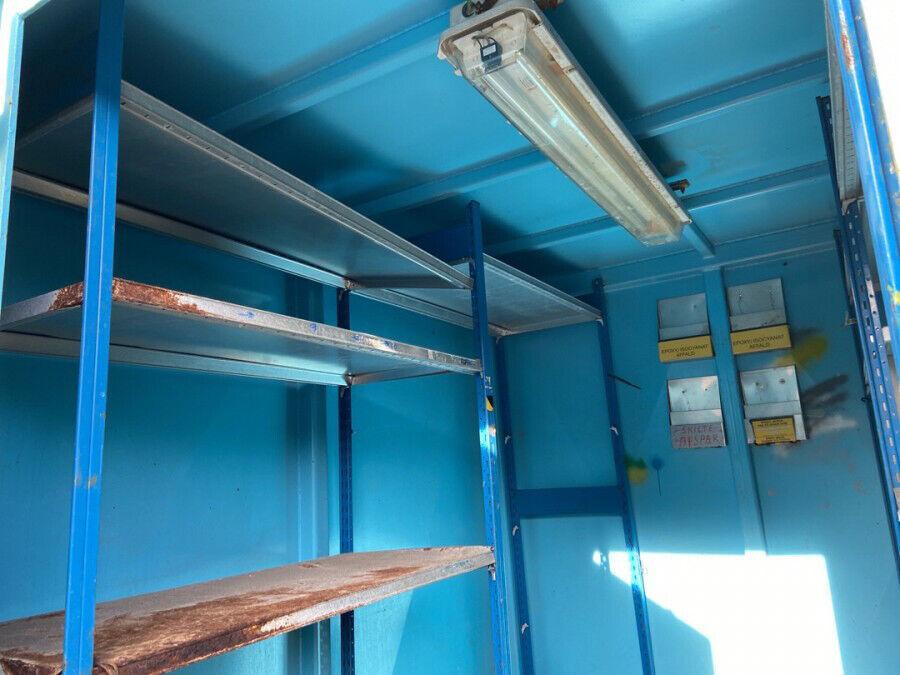 10′ container, brugt, 10 fods (Esbjerg)