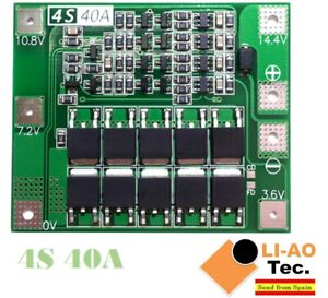 4S-40A-14-8V-16-8V-18650-Lithium-Battery-Protection-Board-BMS-PCB