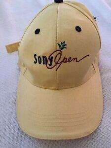 SONY-OPEN-HAWAII-GOLF-TOURNEY-HAT-YELLOW-WAIALAE-COUNTRY-CLUB-KAHALA-ADJUSTABLE