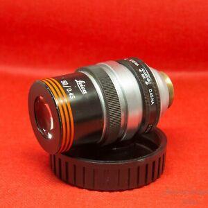 50x-0-45-Iris-ULWD-Microscope-objective-Leica-Bausch-amp-Lomb