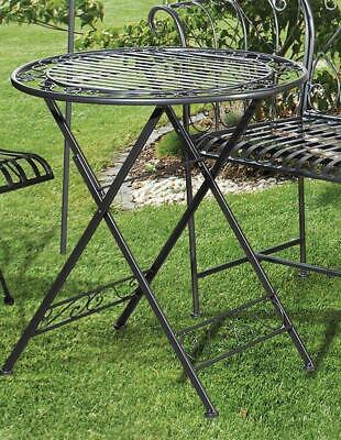 Antik Grün Nostalgie Gartentisch Tisch im altenglischen Kolonialstil