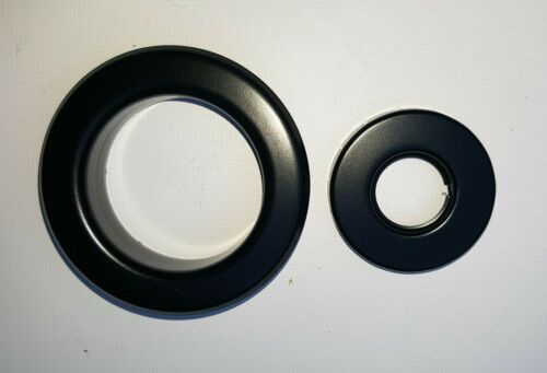 Fire Sprinkler Recessed Escutcheon 1//2 Black For Automatic Fire Sprinklers