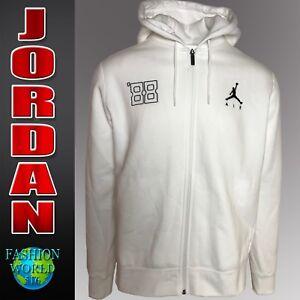 55aba3093c668f Nike Mens Size Large Jordan Flight AJ3 Fleece Full-Zip Hoodie 884211 ...