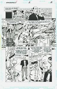 John Byrne GENERATIONS #2 original page