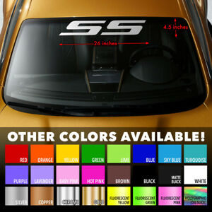 Many Colors To Chose From Chevy Cobalt SS Supercharged Decal Chevy SS Decal