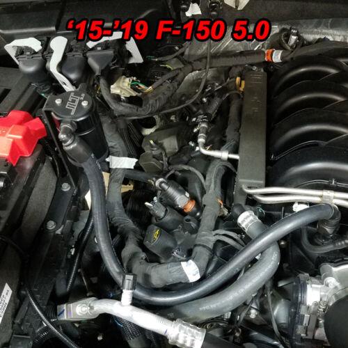 2011-2019 F150 2.7EB 3.5EB 5.0 Passenger Side JLT Oil Separator Black