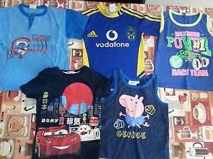 lotto-601-stock-abbigliamento-magliette-bimbo-bambino-4-anni