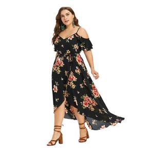 Details About Vestidos Plus Size Floreados Para Mujer De Fiesta Elegantes Tallas Grandes Mejor
