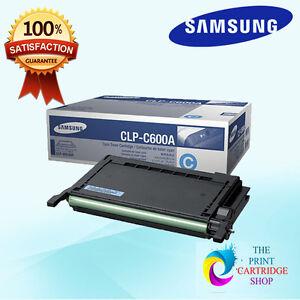 New-amp-Original-Samsung-CLP-C600A-Cyan-Toner-Cartridge-CLP-600-600N-650-650N-4K