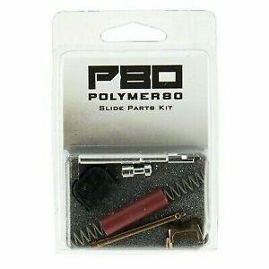 P80 Polymer 80 PF Glock Upper Slide Parts Kit Completion Bronze Red 17 19