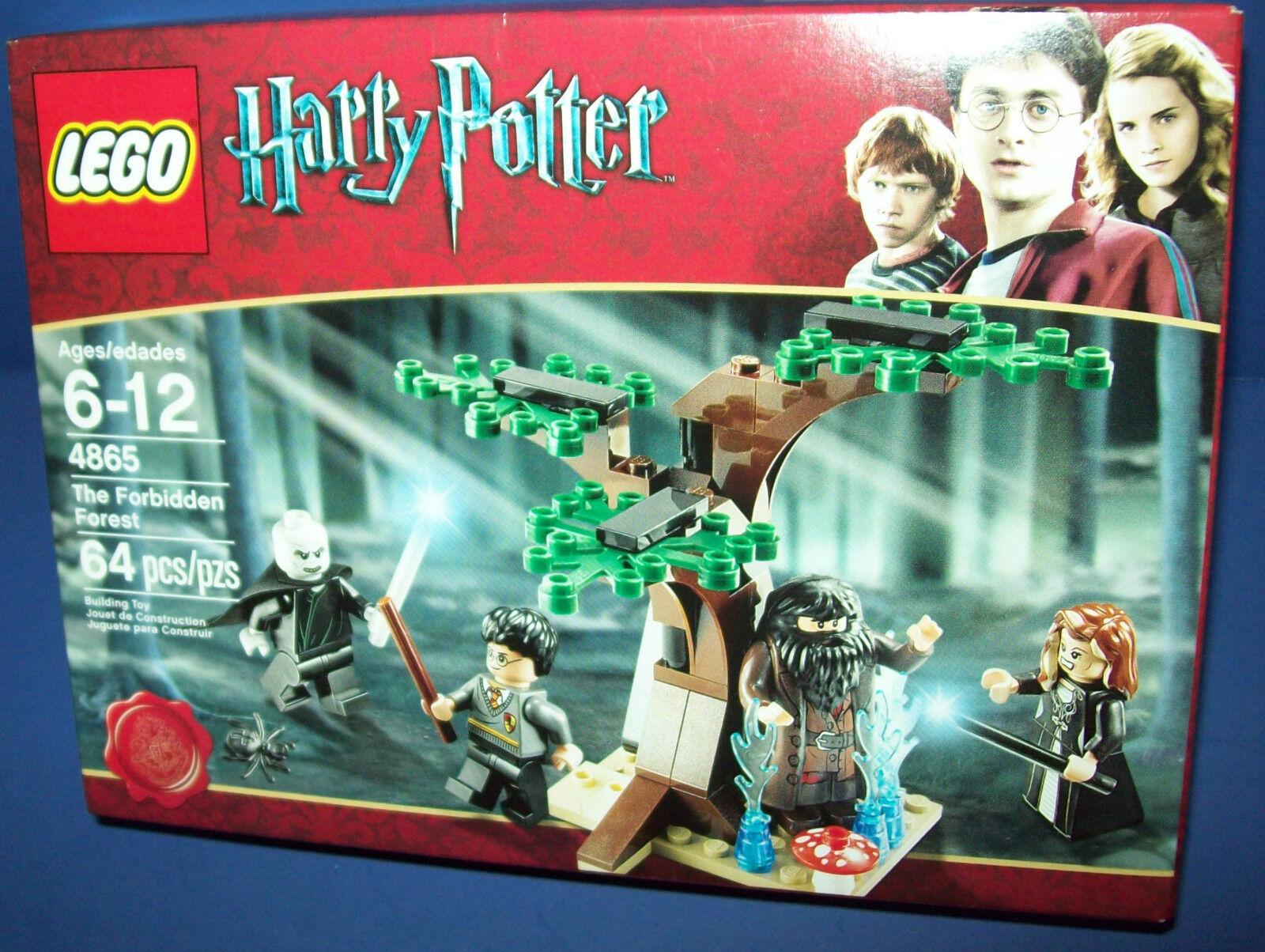 LEGO Harry Potter 4865 - THE FORBIDDEN FORREST retiROT Voldemort Hagrid Mini
