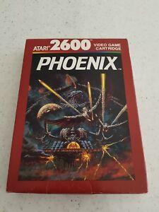 Atari-2600-PHOENIX-Cartridge-Video-Game-Boxed-amp-Complete