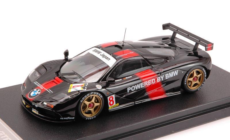 McLaren F1 Gtr  8 Suzuka 1995 Nielsen / Bescher 1:43 Model HPI RACING