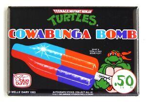 Teenage Mutant Ninja Turtles Popsicle FRIDGE MAGNET sign ice cream