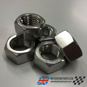 Hexagon Full Nuts. M2 M24 Stainless Steel A2 Din 934