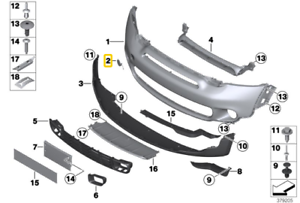 Painted or Primed Genuine BMW Front Tow Hook Cover MINI R56 R57 R58 R59