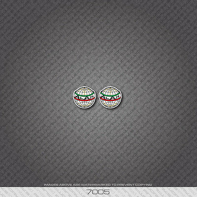 07228 Puch Bicycle Head Badges Stickers Decals Transfers
