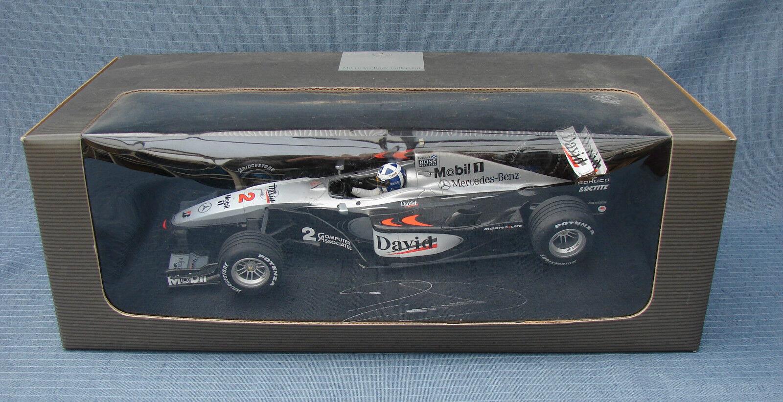 Minichamps 1 18  McLaren Mercedes MP4 15 Coulthard Autograph Collectable E1745  marques de créateurs bon marché