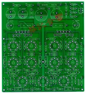 DIY PCB for 6N1 + 6P14 in parallel stereo push-pull tube ...