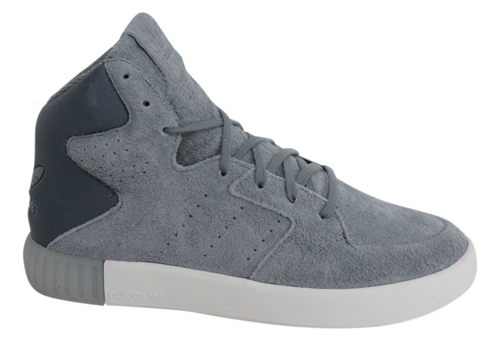 Adidas Originals Invader 2.0 Femme Lace Leather Up  Gris  Leather Lace Trainers S80557 U43 97a433