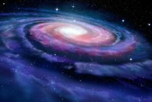 A1   Galaxy Swirl Poster Art Print 60 x 90cm 180gsm Space Stars NASA Gift #8488