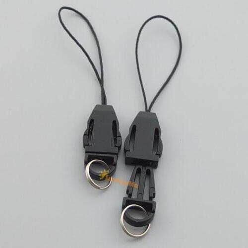 20 50 100 Plastic Detachable Lanyard Wrist Strap Lariat Handy 4 Phone Key Ring