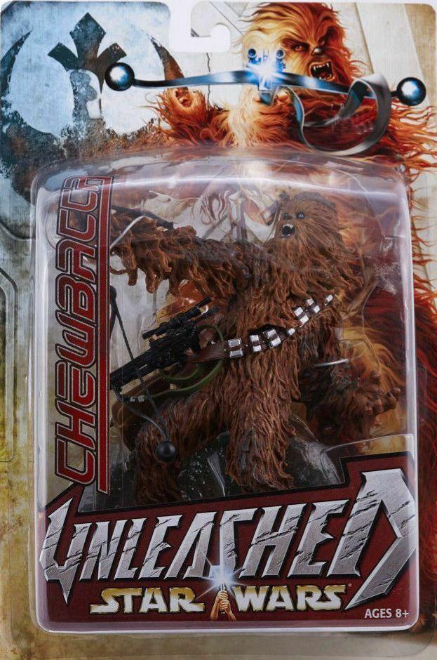 Star wars 8  entfesselt chewbacca - karte neue 2003 1. ausgabe