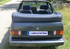 VW Golf 1 Cabrio Verdeck Persenning neu original Material schwarz (farbig mög.)
