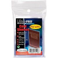 4,000 4000 Ultra Pro Sports Card Soft Penny Sleeves Free Shipping Wholesale