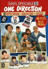 One Direction. 1D Sticker, giochi, quiz - Con adesivi - Ed. White Star