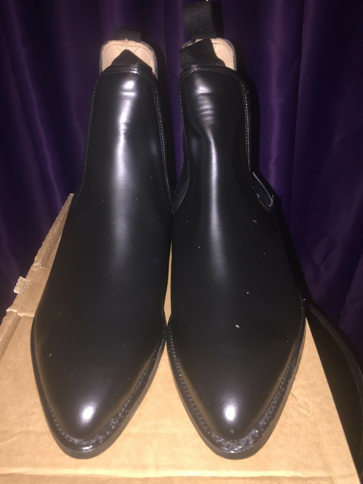 Mens chelsea boots made in England