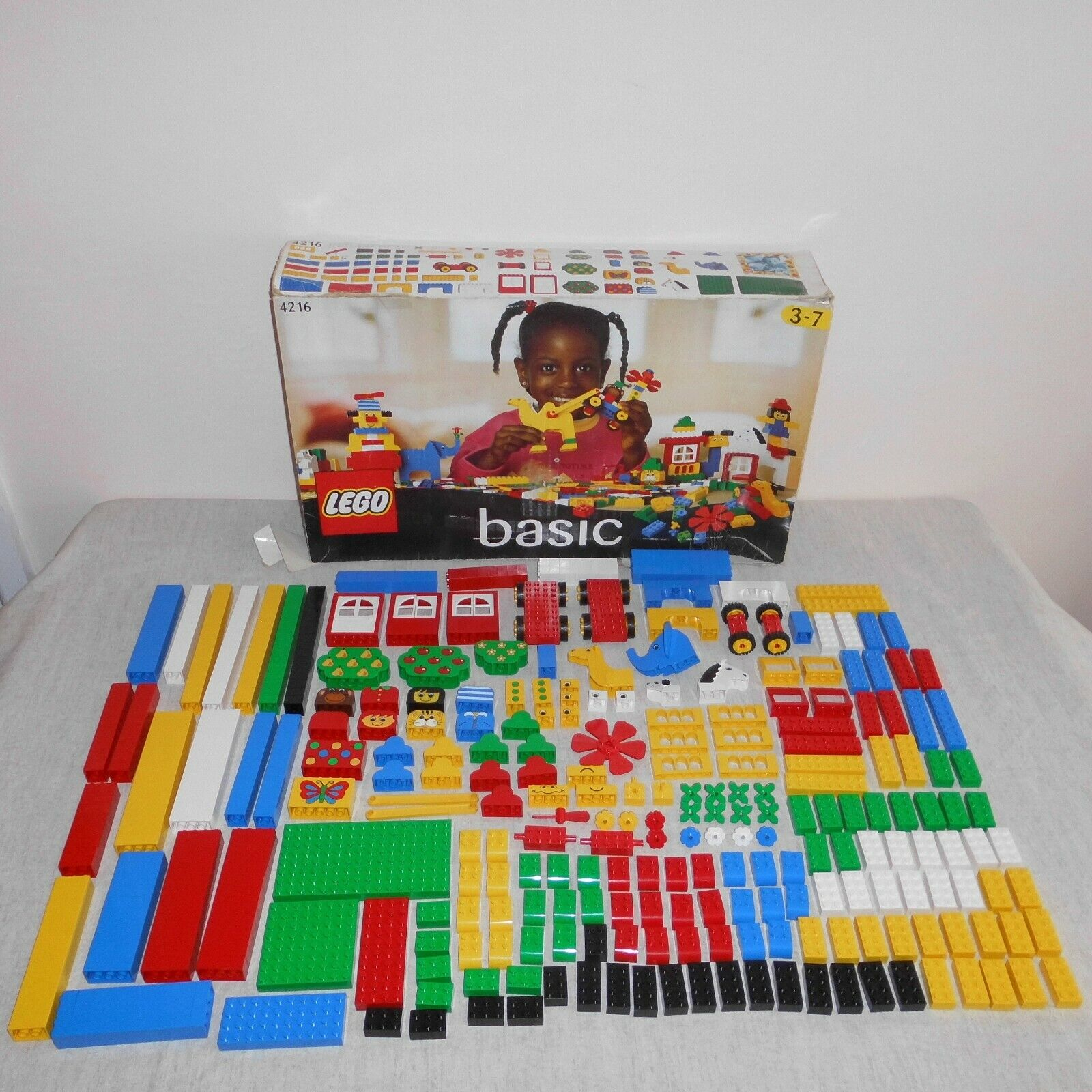 Rare Vintage Lego 4216 Super Set 100. Boxed. 100% Complete