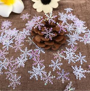 300pcs-Classic-Snowflake-Ornaments-Christmas-Tress-Holiday-Party-Home-DIY-Decor