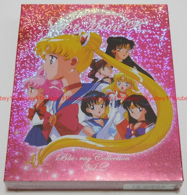 New Pretty Guardian Sailor Moon R Blu-ray Collection Vol.2 Japan F/S BSTD-9680