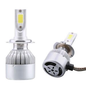 Kit-2x-Luce-LED-lampade-lampadine-fari-auto-car-lampada-moto-H7-6000K-36W-3800LM