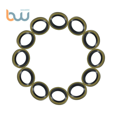 12mm Seals Fuel Line Sealing Washer 12V 24V 5.9 3963983 For Cummins 12