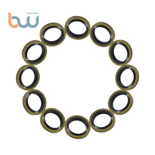 12mm Seals Fuel Line Sealing Washer 12V 24V 5.9 3963983 For Cummins 12