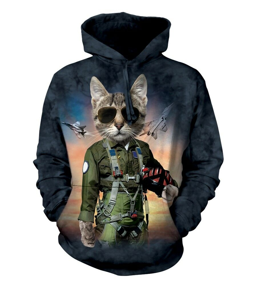 The Mountain Unisex Adult Tom Cat Manimal Pet Hoodie