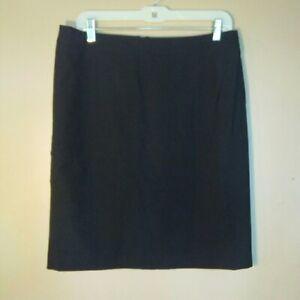 Esprit-Womens-Size-10-Black-Skirt